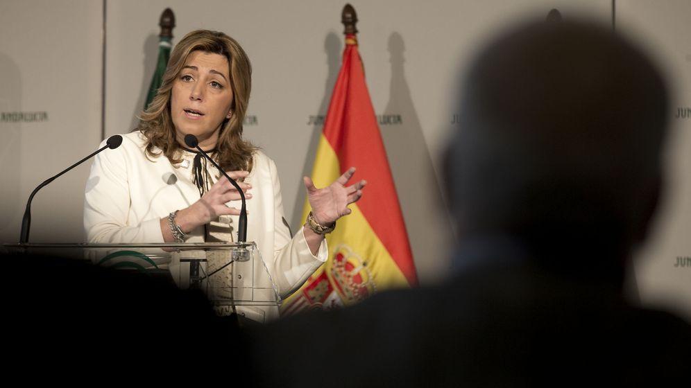 Foto: La presidenta del Gobierno andaluz, Susana Díaz. (Efe)