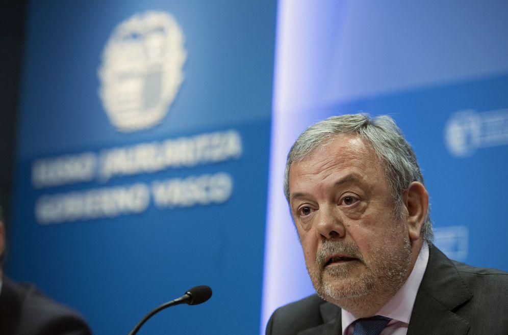 Foto: El consejero de Economía, Pedro Azpiazu. (EFE)