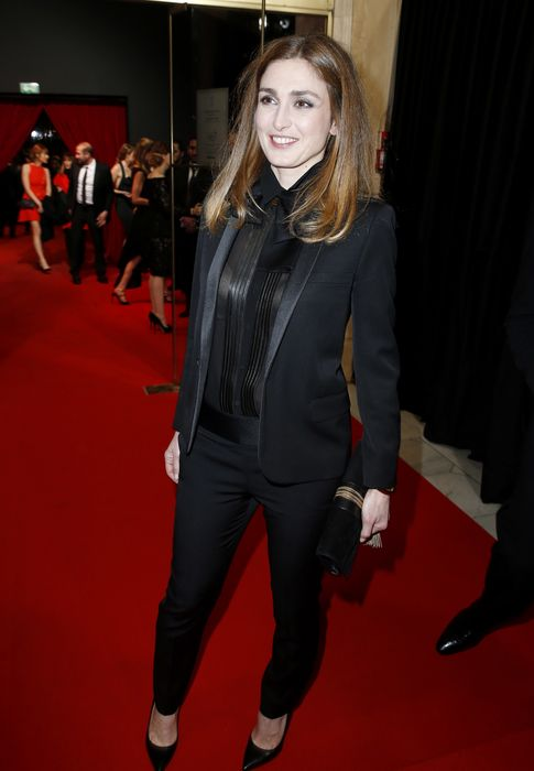 Foto: La actriz Julie Gayet (Gtres)