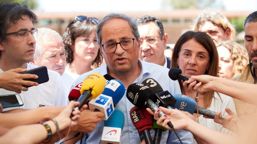 Torra sigue sin ideas para una respuesta de país a la sentencia del Supremo
