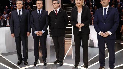 Macron sale ileso del debate donde fue el objeto de todos los ataques