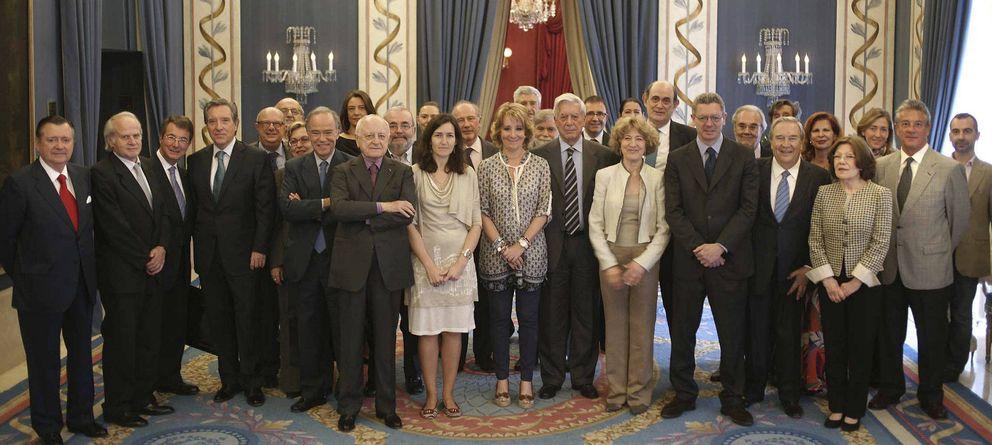 Foto: Homenaje a Vargas Llosa en el Teatro Real