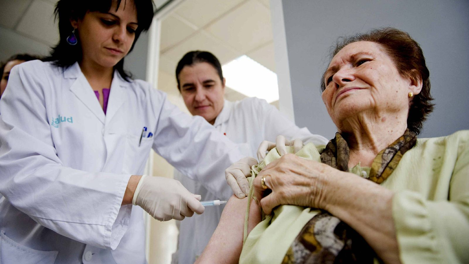 Foto: Campaña de vacunación contra la gripe. (EFE)