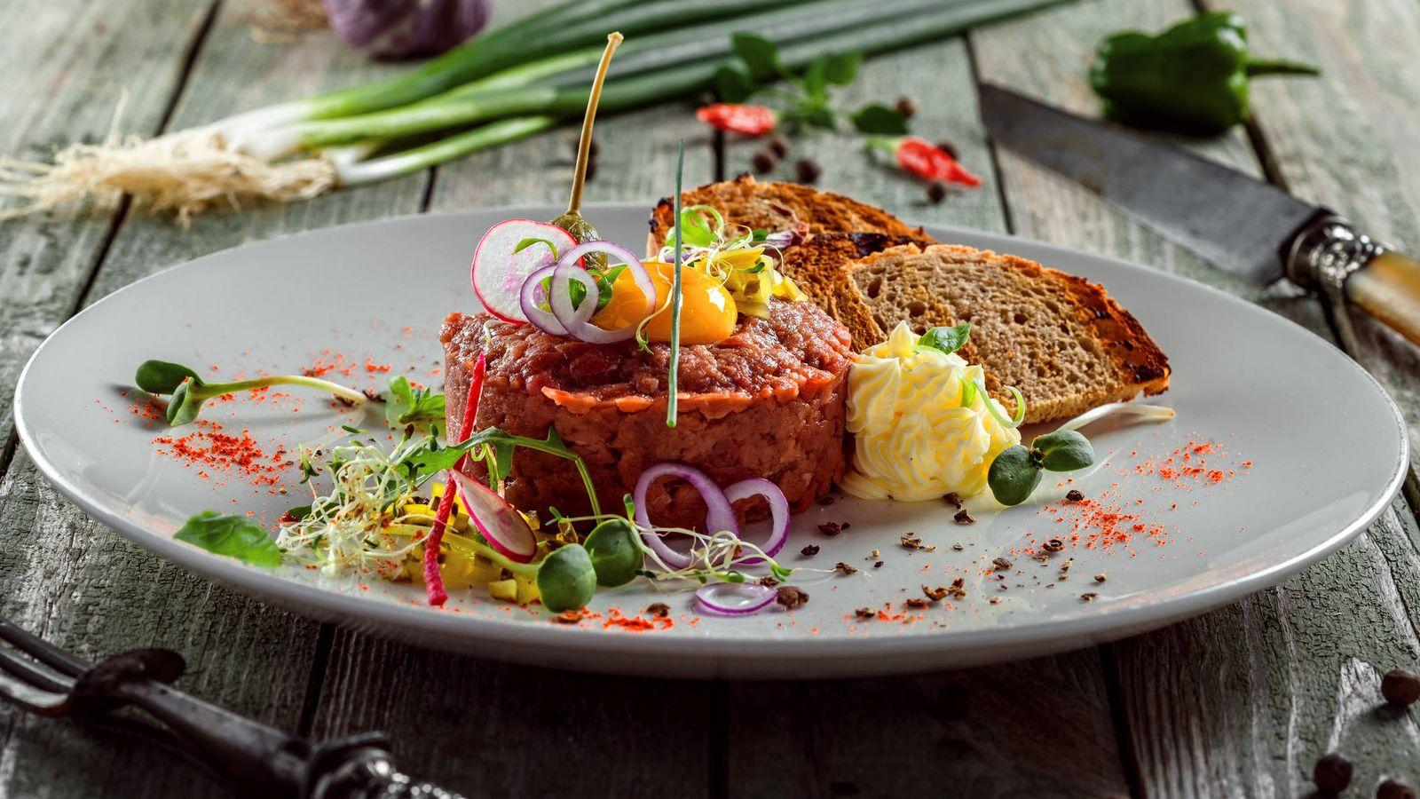 Foto: Tartar listo para degustar. (iStock)