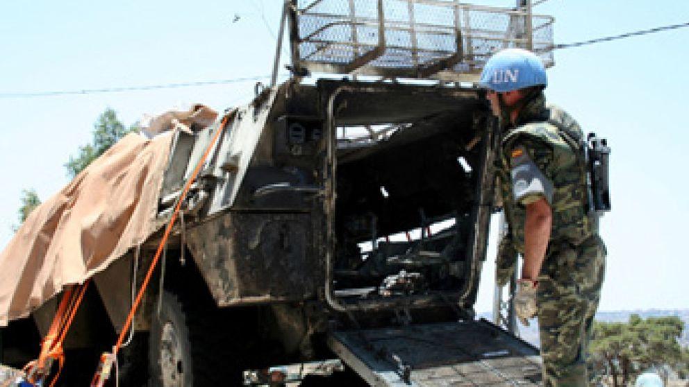 Alonso responsabiliza a Solbes del retraso de los inhibidores en Líbano