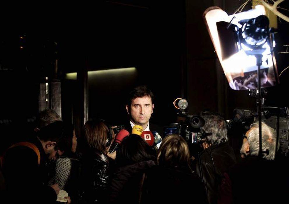 Foto: El exvicepresidente del FC Barcelona Ferran Soriano. (EFE)
