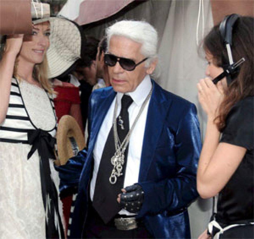 Foto: Las manías de Karl Lagerfeld