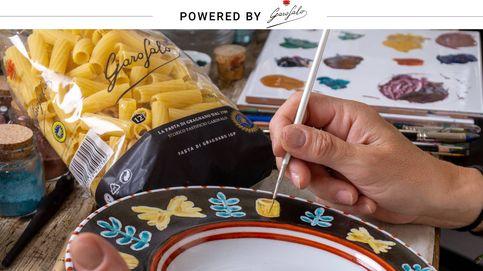 Navidad a la italiana: una vajilla única para la pasta más 'gourmet'