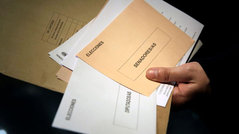 Elecciones generales 2019: Las peticiones de voto por correo descienden un 8,7%