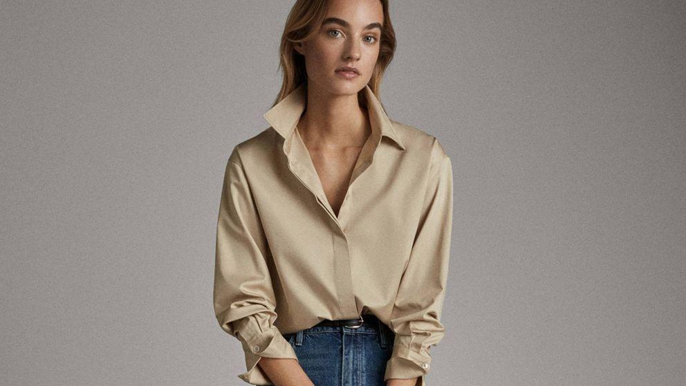 Esta camisa y pantalón vaquero de Massimo Dutti son el dúo que necesita tu armario