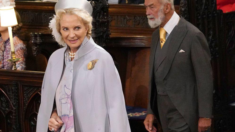Foto: La princesa Michael de Kent en la boda de Eugenia de York. (Getty)