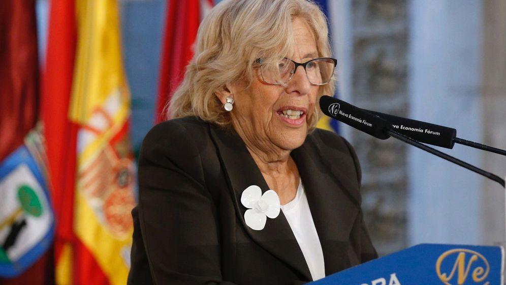 Foto: La alcaldesa de la capital, Manuela Carmena (Efe)