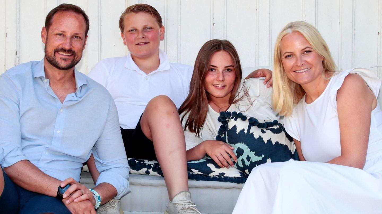 La familia heredera. (EFE)