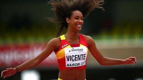 María Vicente, la princesa del atletismo español: Tienes que ser como Beitia