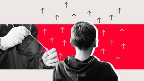 'Rastreadores de covid': Números preocupantes en los centros educativos