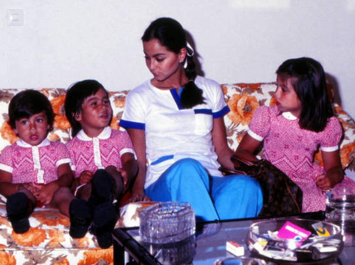 Foto: Isabel Preysler, junto a tres de sus hijos (Enrique, Julio y Chábeli). (Getty)