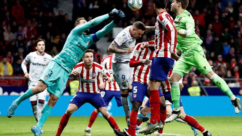El paradón (otro más) de Oblak el día que Felipe sí quiso ser como Godín en el Atlético
