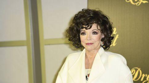 Joan Collins ('Dinastía'), en un cónclave de estrellas en Madrid: sus pasos por la capital