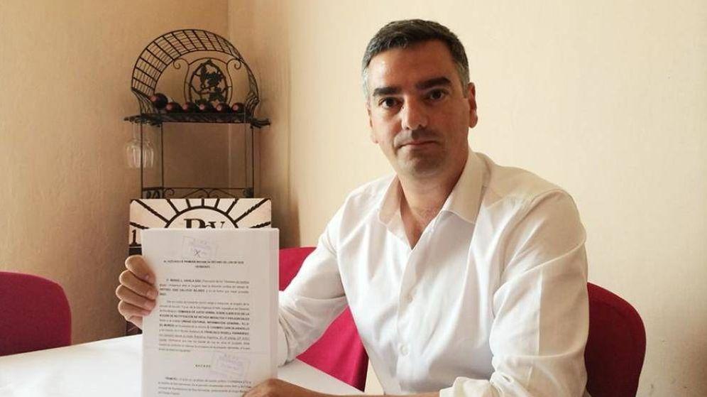 Foto: Manuel Varela, excandidato de Ciudadanos en Dos Hermanas.