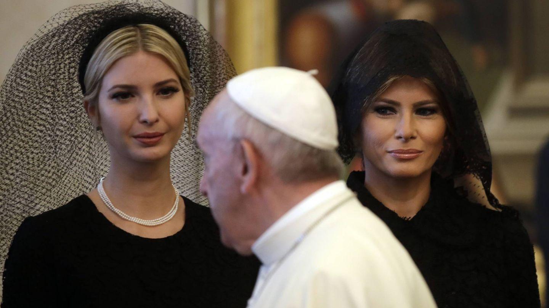 Melania e Ivanka Trump en el Vaticano. (Gtres)