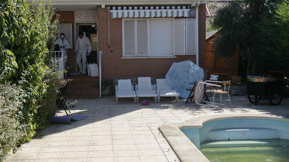 Foto: La casa de Pioz donde ocurrió el suceso. (Efe)