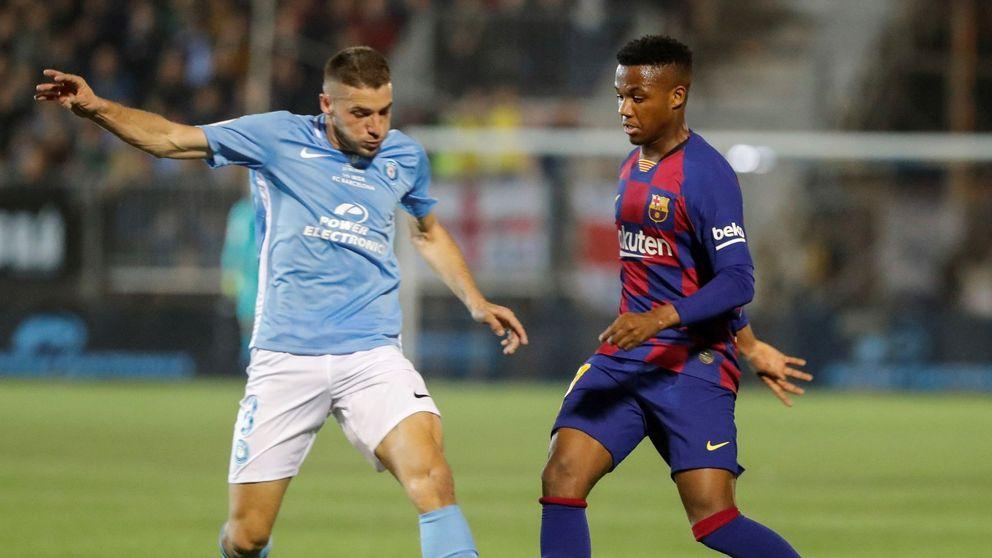 UD Ibiza - FC Barcelona en directo: debut azulgrana en la Copa del Rey