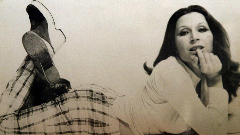 Una imagen de la Rocío Jurado más joven. (Fotos del libro 'Canta, Rocío, canta')