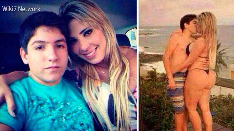 Conmoción en Brasil: una modelo de 30 años sale con un niño de 13