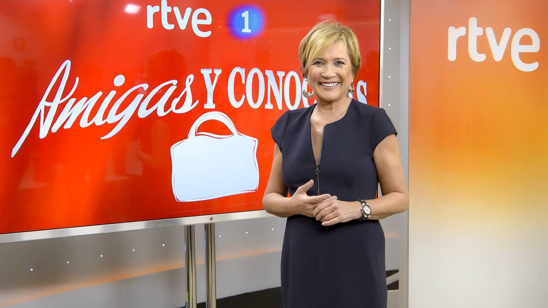 Inés Ballester, presentadora de 'Amigas y conocidas'.