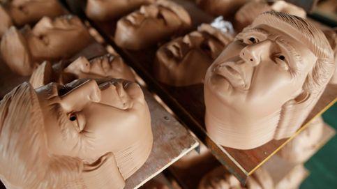 Enmascarando a Donald Trump: así se fabrica en China la cara del candidato republicano