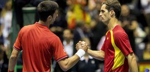 Post de Djokovic y Troicki ponen a España al borde de la eliminación de la Davis