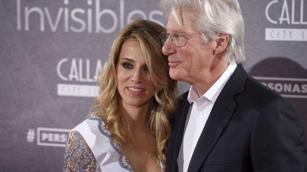 El divorcio de la novia de Richard Gere termina con la intervención de la policía