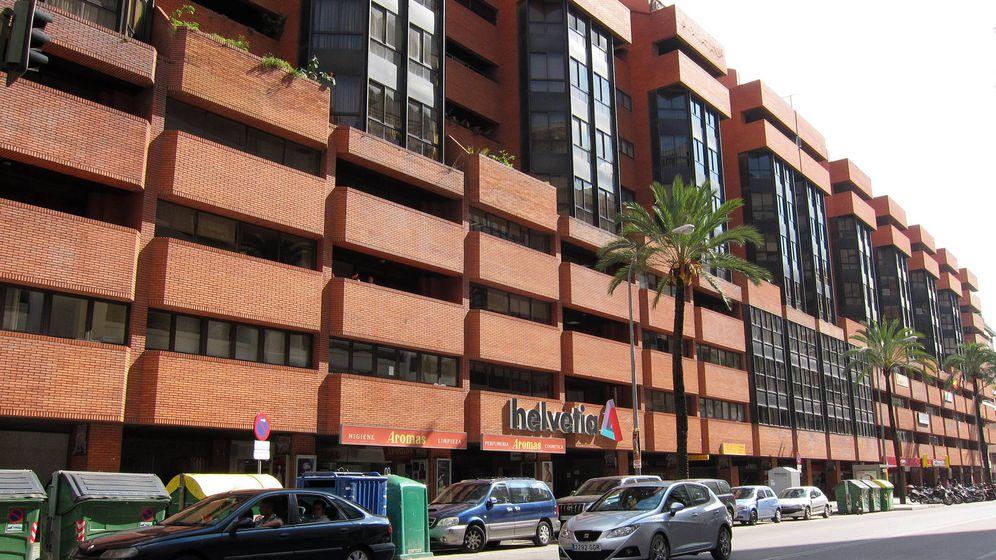 Foto: Edificio en Sevilla que Insur transformará en parte en un hotel. (F. Ruso)