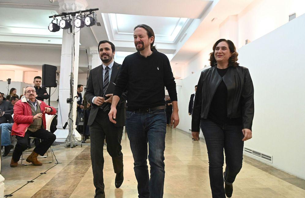 Foto: Encuentro de Unidas Podemos el pasado sábado en Madrid (EFE)