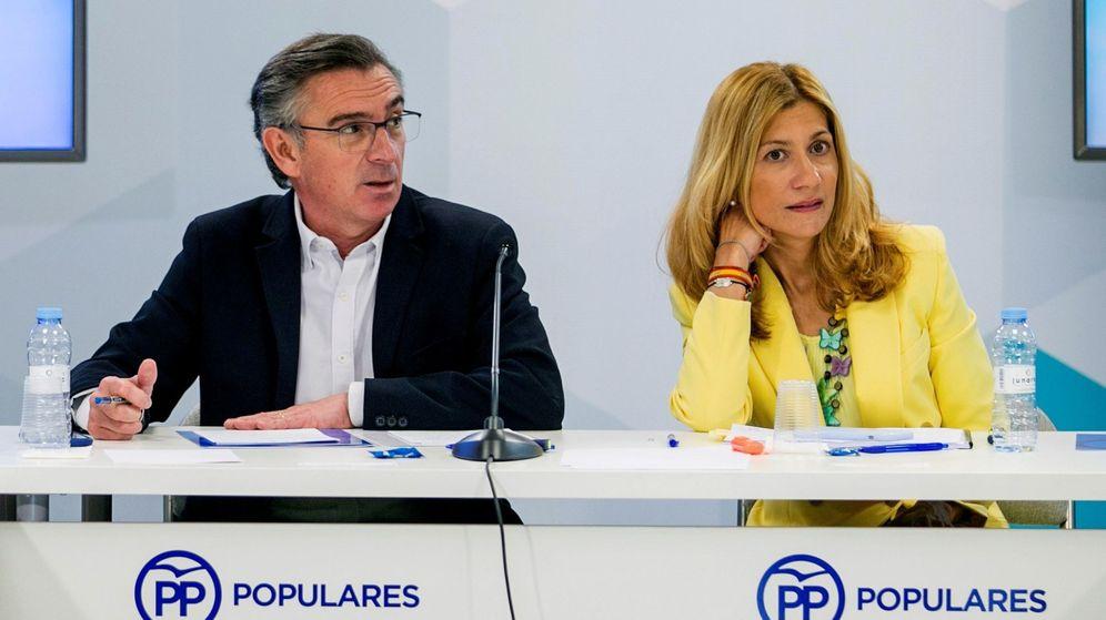 Foto: Luis María Beamonte, en una reunión del partido. (EFE)