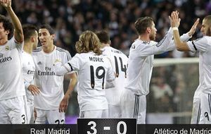 El Real Madrid destroza al peor Atlético de la temporada