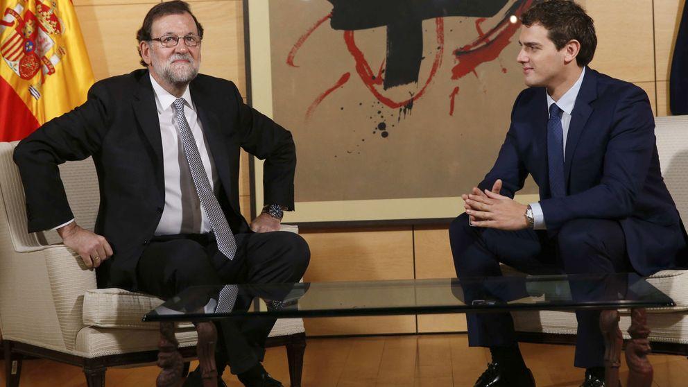 Rivera pide a Rajoy por carta una reunión antes del debate de investidura