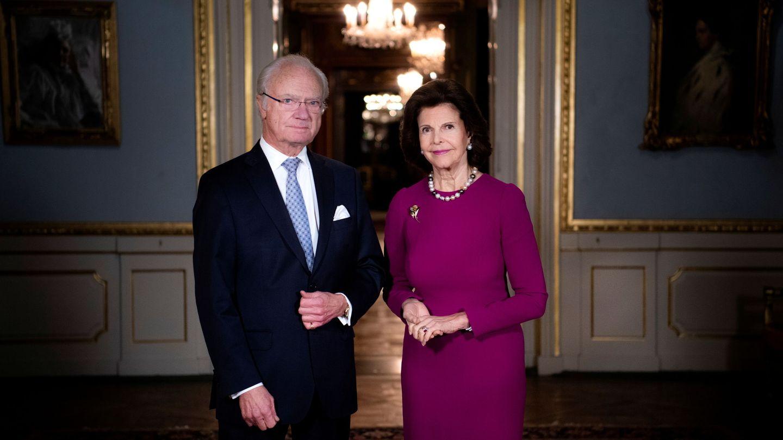 Los reyes de Suecia. (Reuters)