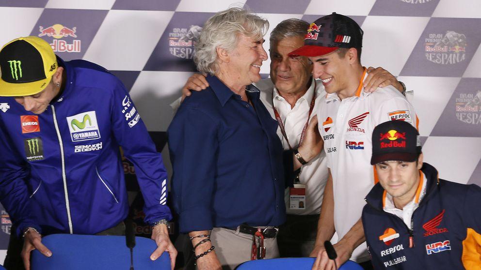 Márquez vuela en Brno en un Gran Premio marcado por Ángel Nieto