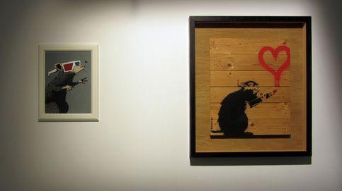 Banksy, por primera vez en España y Festival Maha Shivaratri: el día en fotos