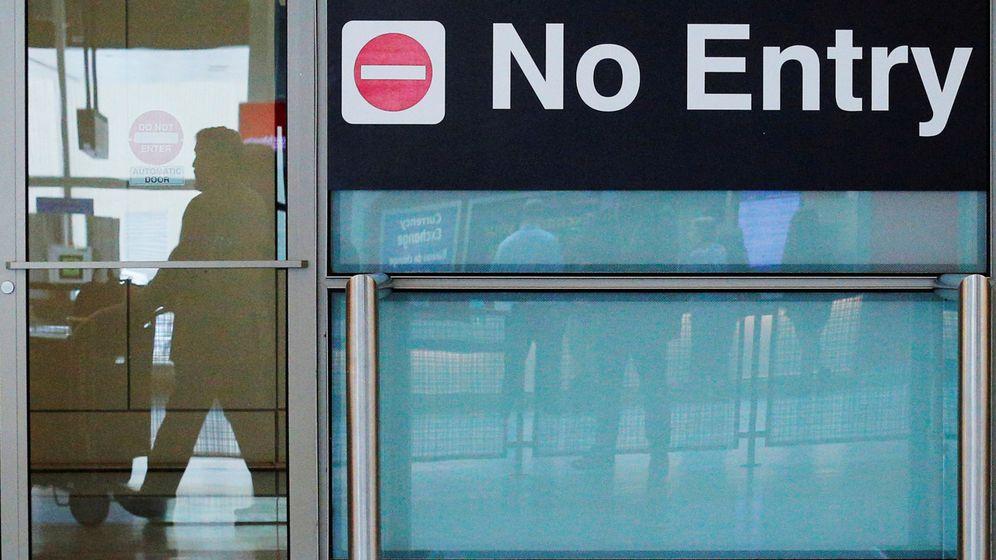 Foto: No entrar. (Reuters)