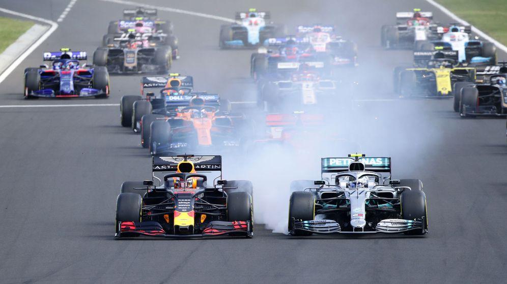 Foto: La salida del pasado GP de Hungría. (Reuters)