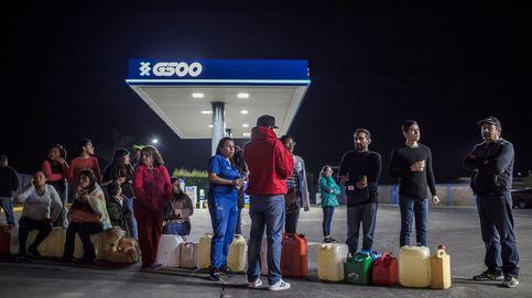 Escasez de combustible generalizada en México