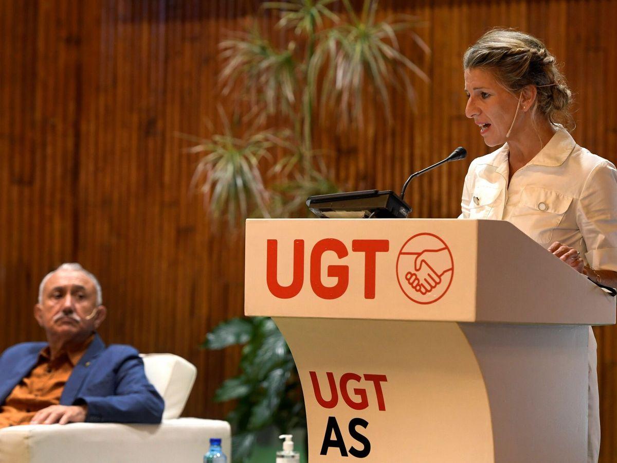 Foto: La vicepresidenta del Gobierno y ministra de Trabajo, Yolanda Díaz. (EFE)