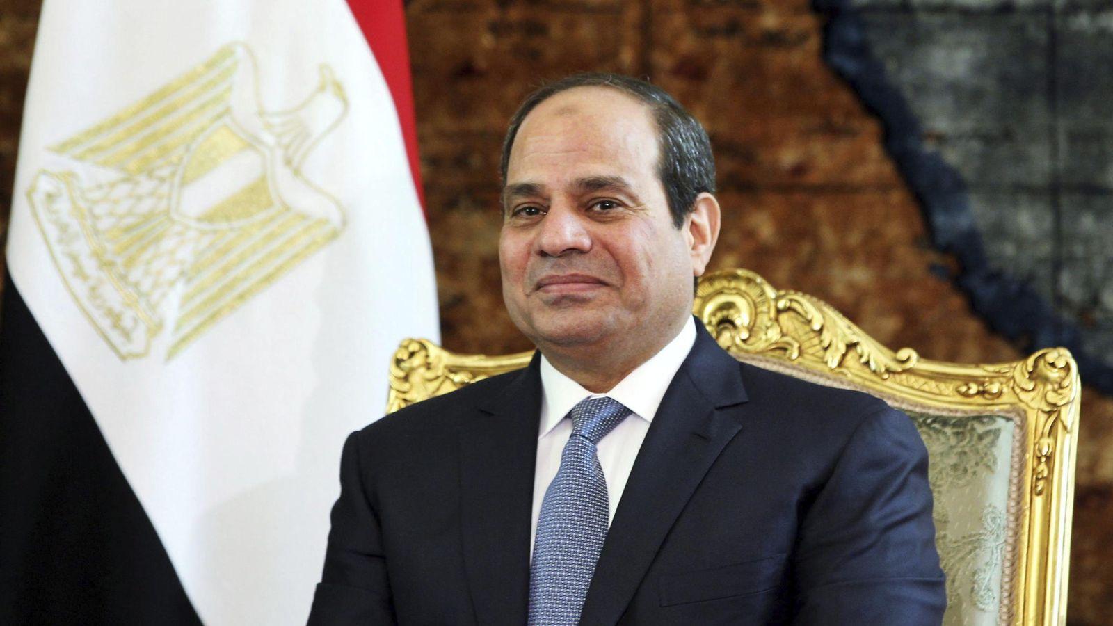 Foto: Abdelfatah al Sisi, presidente de Egipto, está de visita en España (EFE)