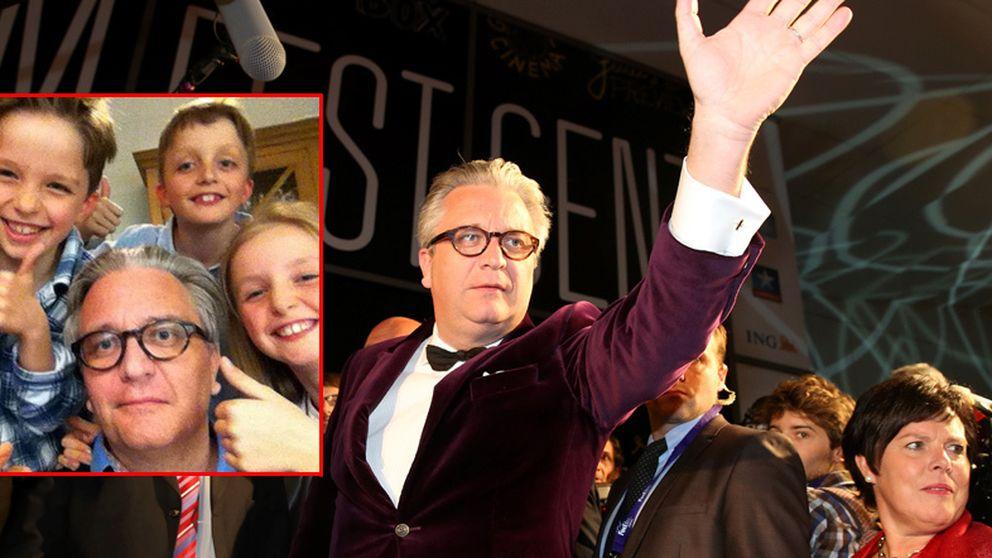 Laurent de Bélgica se apunta a la moda del 'selfie'