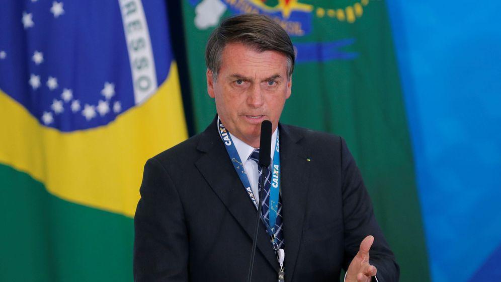 Foto: Jair Bolsonaro, presidente brasileño. (Reuters)
