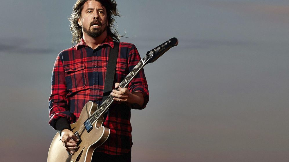 Foto: Dave Grohl, de Foo Fighters.