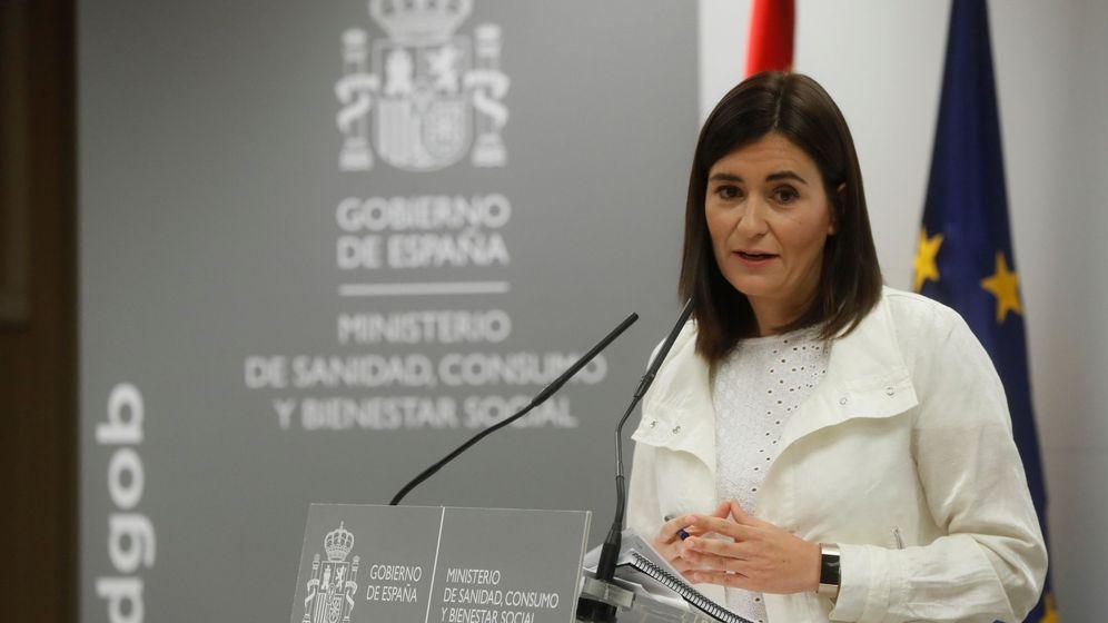 Foto: La ministra de Sanidad, Consumo y Bienestar Social, Carmen Montón, ha negado irregularidades en la obtención de su máster sobre estudios de género. (EFE)