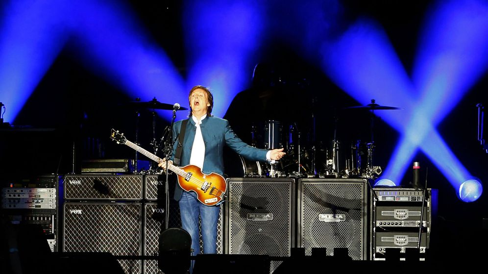 Foto: Paul McCartney en madrid (Efe/J.P.Gandul)